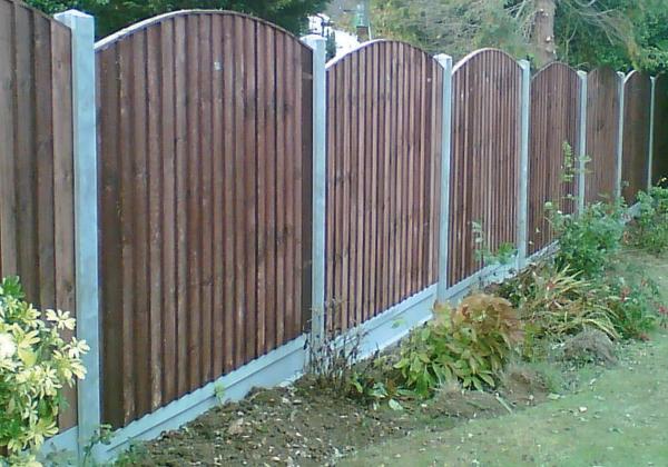 best 25 concrete fence panels ideas on